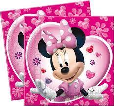 minnie mouse servetten 20 stuks